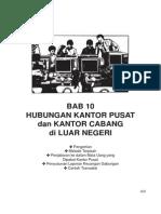 Akuntansi Kantor Pusat Dan Cabang Di Luar Negeri