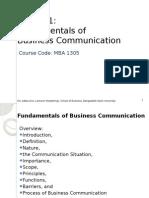 Lesson 1 - Business Communication Bw