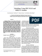 Floodplain Modeling Using HEC-RAS and  MIKE11 Models