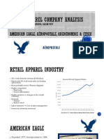clothing retailers financial statements analysis