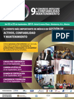 2014 CMCM Folleto de Evento