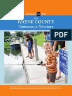 wayne county community directory 2015