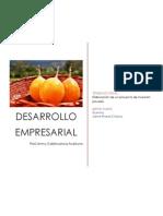 Proyecto de Inversion:Exportación de granadilla