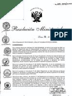 R.M. 209-2006-MINSA-Técnico egresados de un IST deben de acceder al nivel SPE según Ley 25333.