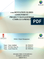 Final Assignment Presentation Slides Format