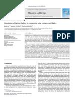 Simulation of Fatigue Failure in Composite Axial Compressor Blades