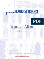 The Jere Beasley Report, Apr. 2014