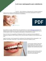 Acusan a un dentista de usar sujetapapeles para endodoncia