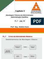 Cap 3 Abordagem Classica da Adm.ppt