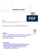 L-4 Persamaan Linear in Homogen