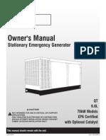 Eaton's 70kw Owner's Manual With Nexus 77P