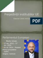 Președinții instituțiilor UE în 2014