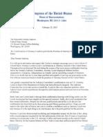 Hank Johnson's Lynch Letter