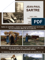 [33] Frases Del Filósofo Jean-Paul Sartre