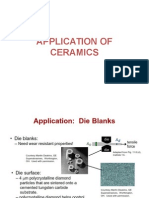 Applications of Ceramics