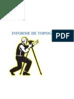 Informe Topografico- Carretera Ihuari