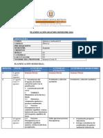 Planificacion Semestral Qca Amb II 2014