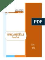QAmb II 2014 Clase 1