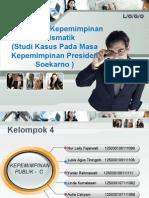 Model Gaya Kepemimpinan Kharismatik (Studi Kasus Pada