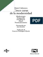 "Matei Calinescu ""Vanguardia"""