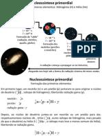 Evolução Das Estrelas e Formação Dos Elementos 2011_2012