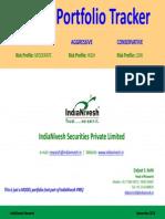 IndiaNivesh Model Portfolio Sept 14