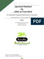 Al Qawloel Moefied Deel 2 - Definitie Islaam, definitie Imaan, definitie Ihsaan