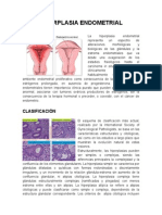 Hiperplasia Endometrial y CA de Endometrio