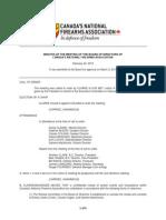 NFA Board Minutes - Feb 24, 2015