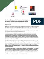 Bilingual Press Release