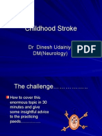 Childhood Stroke