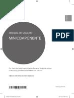 Manual LG Samsun 5480 Mini componente