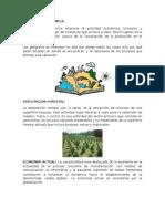 Actividades Económicas y Financieras de Centroamérica