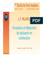 Formation Réduction de Polluants