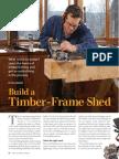 Timber Frame Shed