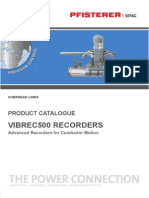 Analizador Vibraciones Redes Alta Tension