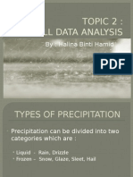 (Rainfall Data Anaylsis)