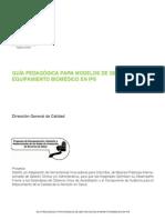 Guia Pedagogica Para Modelos de Gestion de Equipamiento Biomedico en Ips