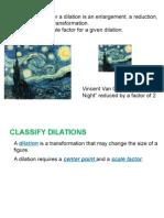 9 5 Dilation