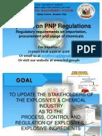 Updates on PNP Regulations