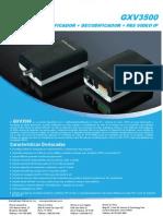 Gxv3500 Datasheet Spa