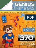 Dmv Genius Cheat Sheets