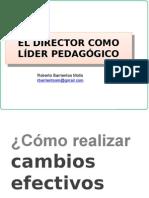 PPT- Director Como Lider Pedagogico