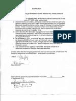 Bajardi v Pincus--Dawn Zimmer Certification- Sept 16 2014