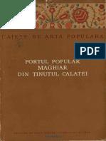 Portul Popular Maghiar Din Tinutul Calatei - Jeno Nagy