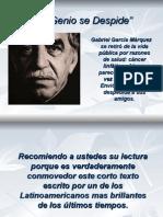 (Gabriel Garcia Marquez)