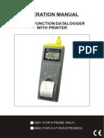 Catalogo Sensor de Temperatura de Dos Canales Metrología