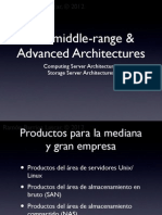 IBM middle-range & Advanced Architectures 2012