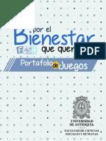 Portafolio de Juegos Bienestar FCSH