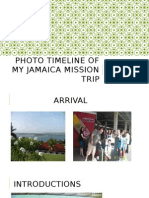 photo timeline of my jamaica mission trip